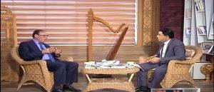 صورة من اللقاء المتلفز على قناة المسار للدكتور الوائـــلي في فنارات ، لقاء ثقافي
